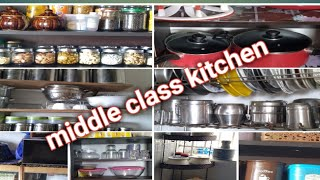 Non Modular Kitchen In Tamil Middle Class Kitchen