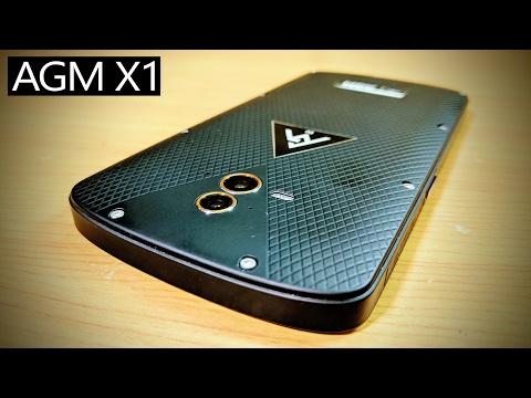 WATERPROOF & SHOCKPROOF Smartphone AGM X1 Review (5.5