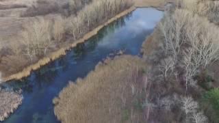 Drohnenflug über der Lobau in Wien mit anschließendem Crash