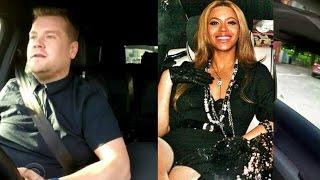 Carpool Karaoke Beyonce James Corden