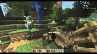 Minecraft SMP: Village Madness Part #7: The Flying Lodge