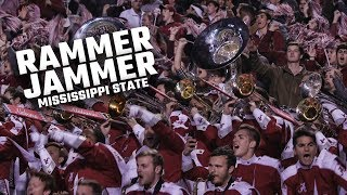 "Watch Alabama fans and the Million Dollar Band sing ""Rammer Jammer"" after beating Mississippi State"