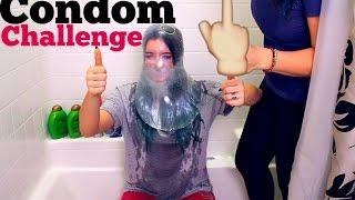 CONDOM CHALLENGE | THE CONDOM BROKE!!!!!! Mackenzie Marie