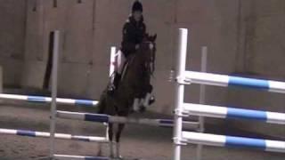 Valstad Gård Christmas Show 2008 - Puissance (high jump) - Equestrian