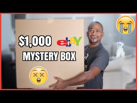 1000 Mystery Box from Ebay THEY SET ME UP
