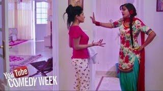 Girls Fight - Comedy Scene from Latest Punjabi Movie of 2013 - Pooja Kiven Aa | Comedy Week
