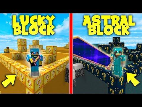 Xxx Mp4 Minecraft ITA SFIDA CON I LUCKY BLOCK Astral VS Normal Contro KeNoia 3gp Sex