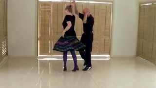 Rock 'n' Roll Dance Lesson 2-Rock 'n' Roll Basics- Beginners Rock 'n' Roll