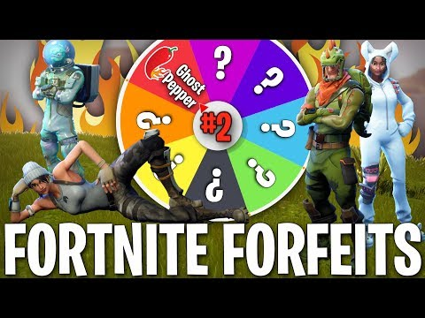 Xxx Mp4 SPIN THE WHEEL OF FORTNITE FORFEITS GHOST PEPPER EDITION 3gp Sex