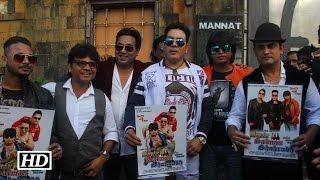 Aamir, Salman Shah Rukh Film Promotion Outside SRK's Residence