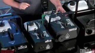 CHAUVET DJ Product Spotlight   Fog Machine Frenzy