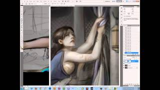 Part 1 - Painting the Female Figure with Cynthia Sheppard - Noah's Art Camp