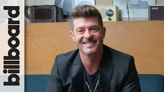 Robin Thicke Reveals Dream 'Masked Singer' Contestant, Why He Loves H.E.R. & More | Billboard