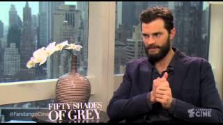 Fifty Shades Of Grey- Jamie Dornan and Dakota Johnson- Red Room