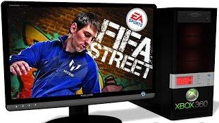 XENIA Xbox 360 Emulator - FIFA Street (2012). OpenGL and Vulkan. Test #1