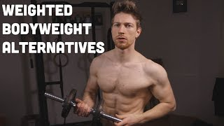 Weighted Calisthenics but NO dipping belt?
