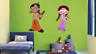 Asian Paints Kids World Chhota Bheem Wall Themes