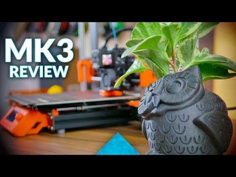 The most important 3D printer Original Prusa i3 MK3 review