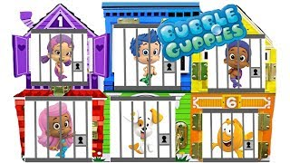 Best Learning Colors Video for Children with Bubble Guppies Gumball Jail Rescue   Fizzy Fun Toys