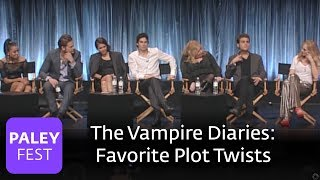 The Vampire Diaries - The Cast on Their Favorite Plot Twists