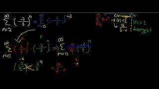 {2} Infinite Series ( Geometric Series ) |كالكولس 2 بالعربي | شرح سلسلة هندسية