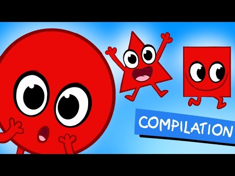 My Magic Shapes Educational Compilation with Numbers and Colors by My Magic Pet Morphle
