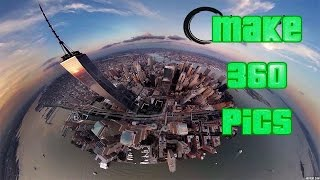 How To Make VR 360 Pictures For Facebook With DJI Phantom 3/4
