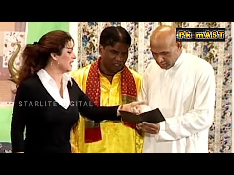 Best of Hina Shaheen and Amanat Chan Stage Drama Full Funny Comedy Clip