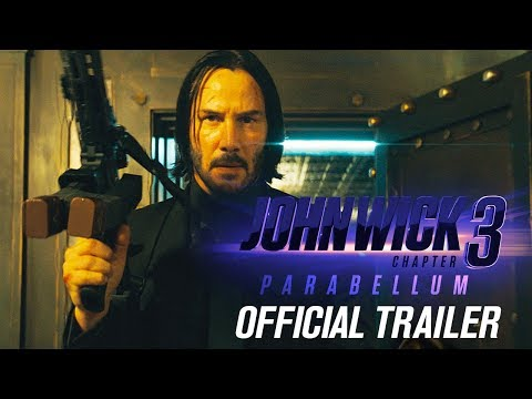 John Wick Chapter 3 Parabellum 2019 Movie Official Trailer – Keanu Reeves Halle Berry