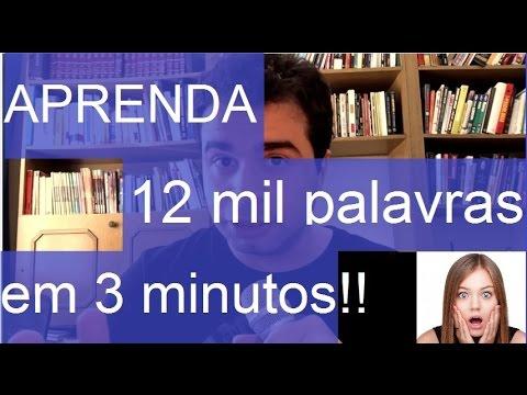 watch Aprenda 12 mil palavras de Inglês em 3 minutos