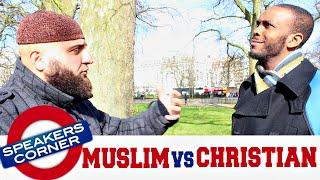 Muslims Should Convert To Christianity | Speakers Corner