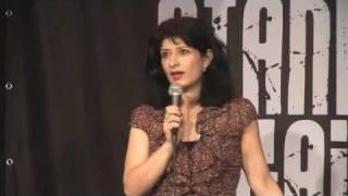 Shappi Khorsandi - Stand up against racism (some bad language)