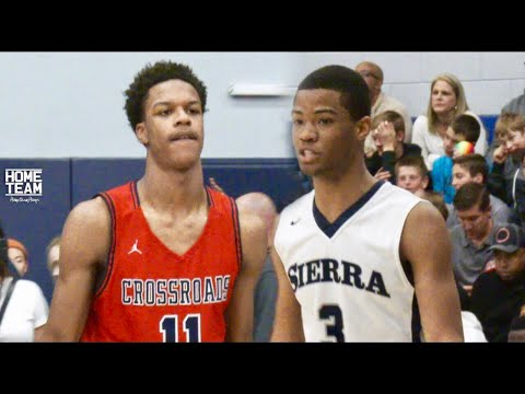 Cassius Stanley Vs. Shareef O Neal Was Too LIT Sierra Canyon vs. Crossroads