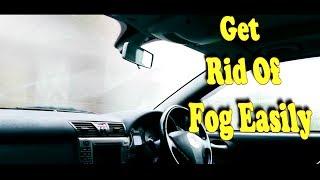 how to get clean windscreen  while driving in rain (Defog window)#Defog #cleanwindscreen #CARDIY
