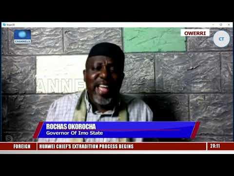 Oshiomhole Does Not Have The Powers To Suspend Me Okorocha Sunday Politics
