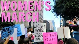 PU$$Y GRABS BACK (WOMEN'S MARCH 2017)