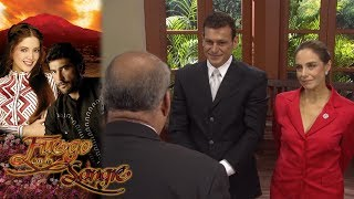 ¡Gabriela y Fernando se casan! | Fuego en la sangre - Televisa