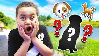 SURPRISING MY LITTLE BROTHER WITH HIS DREAM DOG!! **EMOTIONAL** (MEET OUR NEW FAMILY MEMBER!)