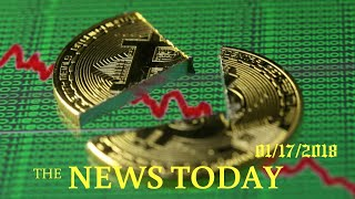 News Today 01/17/2018 | Donald Trump | Bitcoin Slumps Below $10,000, Half Its Peak, As Regulato...