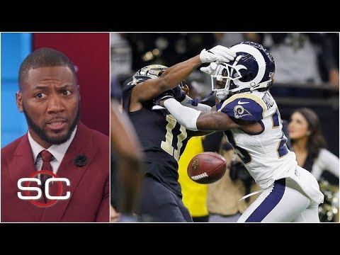 Rams beat Saints after controversial missed pass interference call SportsCenter