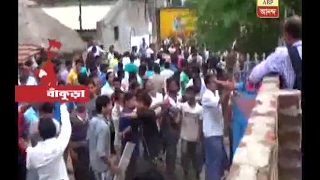 tension at a village in Bankura over death of a housewife