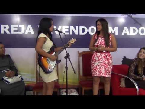 Leandra Nascimento e Raquel Homenagem a Simone Ferraz