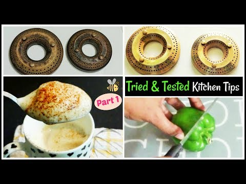 7 Useful Kitchen Tips & Tricks in Hindi with English Subtitle Home HashTag Life