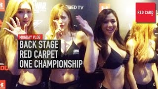 BACK STAGE RED CARPET ONE CHAMPIONSHIP