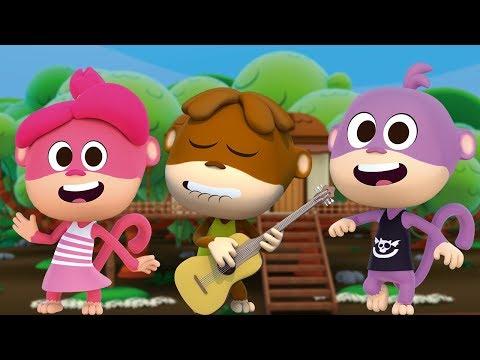Cinco Monitos - Las Canciones Del Zoo 3