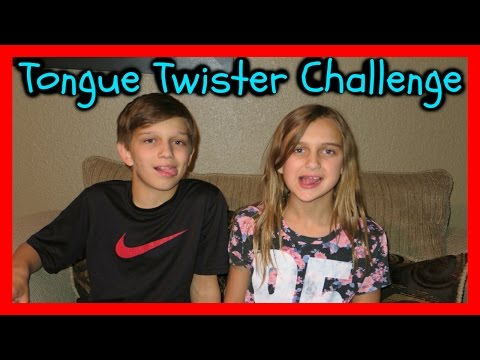 TONGUE TWISTER CHALLENGE KIDS EDITION
