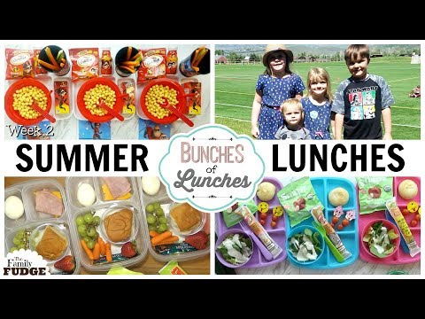 INCREDIBLE Summer Lunch Ideas Bunches Of Lunches & What and WHERE We Ate☀️