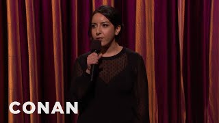 Dina Hashem On Growing Up Arab In New Jersey  - CONAN on TBS