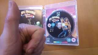 big trouble in little china, blu-ray and dvd's