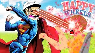 PAPI SE TRANSFORMA EN SUPERMAN | HAPPY WHEELS #141